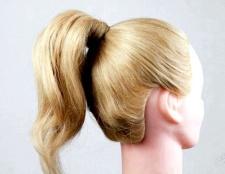 Дитячі зачіски на довге волосся