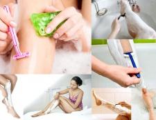 Як голити ноги
