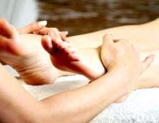 Як робити масаж ніг