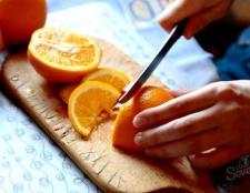 Як нарізати апельсин