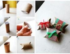 Як оформити подарунок своїми руками