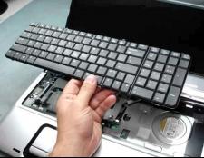 Як відключити клавіатуру на ноутбуці