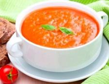 Як приготувати томатний суп