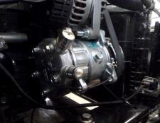 Як зняти компресор кондиціонера