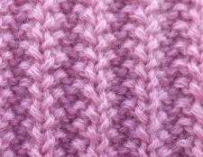 Як зв'язати спицями шарф
