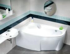 Як закріпіті акрилову ванну
